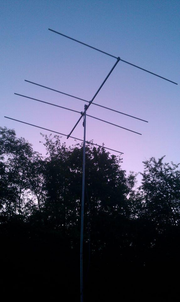 The beam as dusk